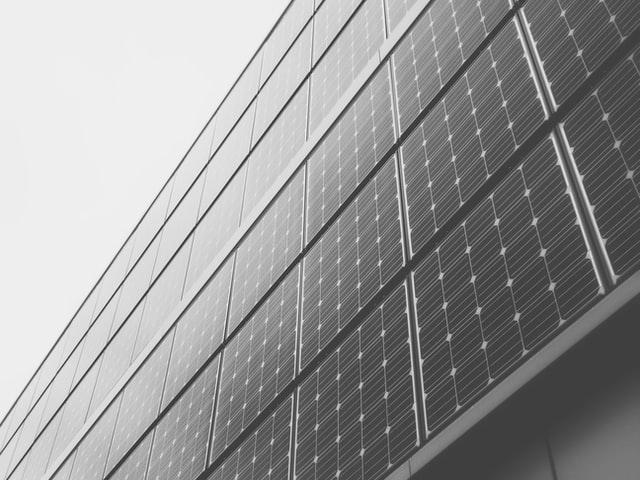 Glasopbouw van zonnepanelen